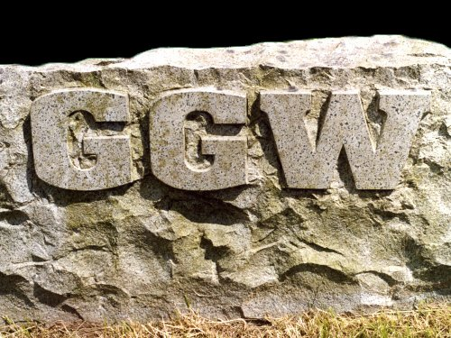 Sign, Galloway Granite Works