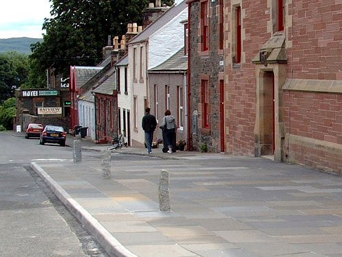 Wigtown Posts and Kerbing