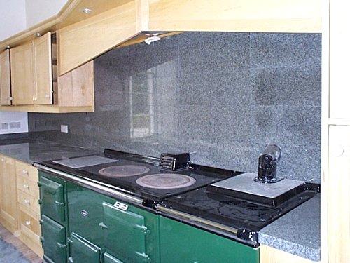 Polished Karin Grey Granite Worktops and Splashbacks