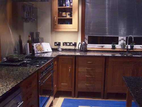 Worktop, Baltic Brown Kitchen