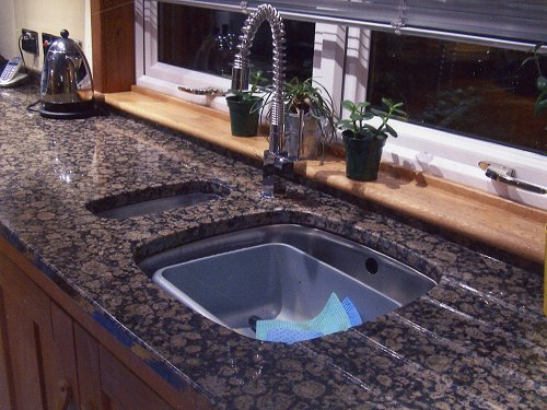 Worktop, Baltic Sink Cutout