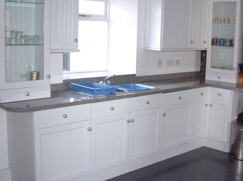 Galloway granite granite worktops countertops worktop for Light grey granite sink